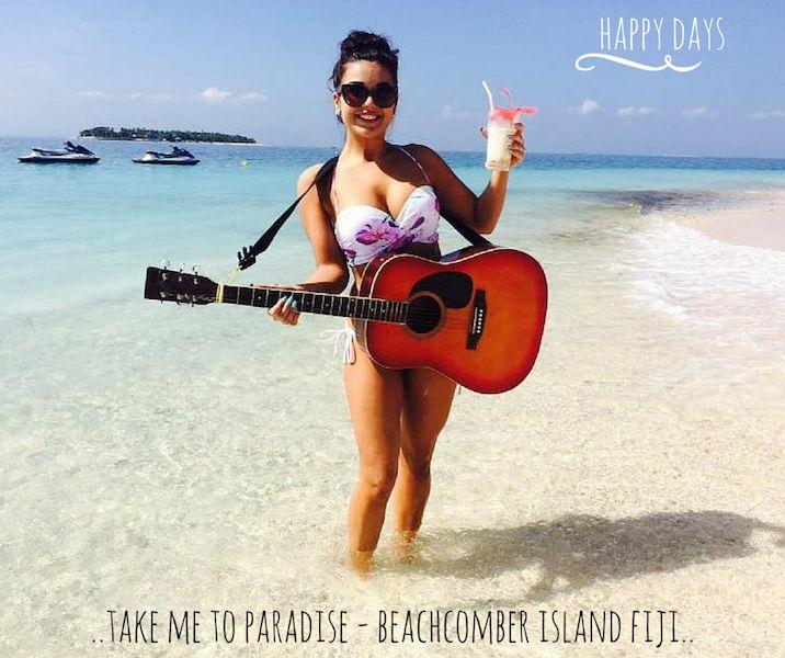 Happy days! #beachcomberislandfiji