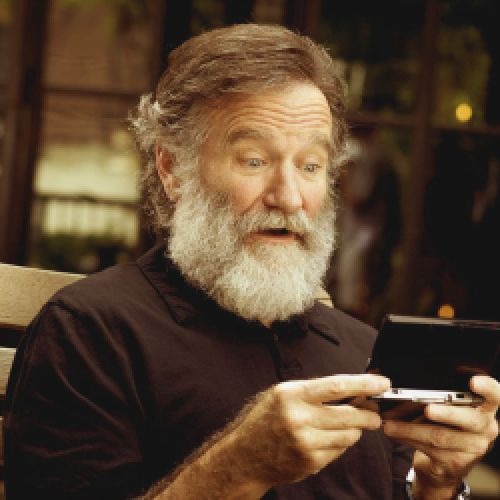 Robin Williams - a small tribute on my pinboard to this man, one of the greatest actors of all times, a very happy person who make us see the world through different eyes, i will love him forever. he changed lives.