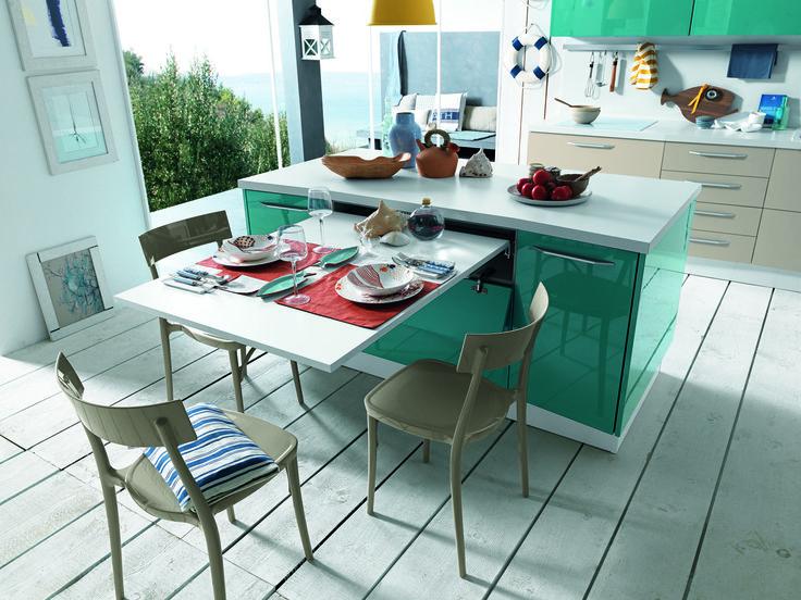 6 cucine moderne con un'isola super pratica. https://www.homify.it/librodelleidee/762827/6-cucine-moderne-con-un-isola-super-pratica
