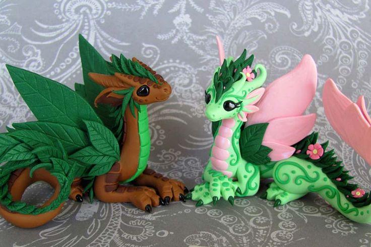 dragões em biscuit - Pesquisa Google