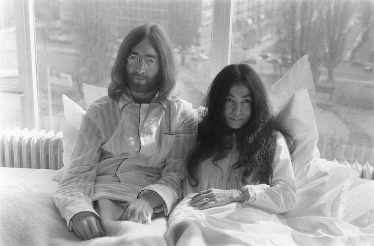 Yoko Ono e John Lennon