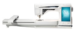 Husqvarna Viking Designer Diamond deLuxe Sewing and Embroidery Machine