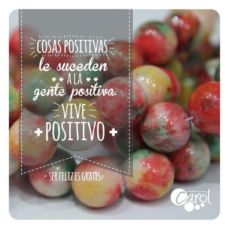 #DIY #HazloTumismo Vive positivo!