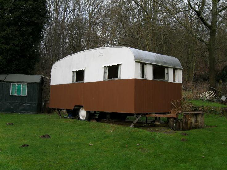 Late 1950s Bluebird Vintage caravans