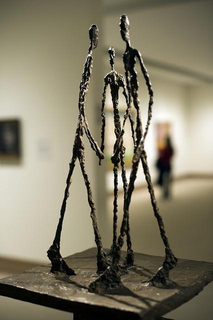 Three Men Walking by Giacometti