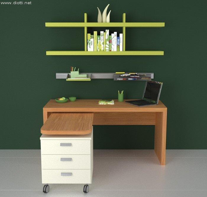scrivania verde 2