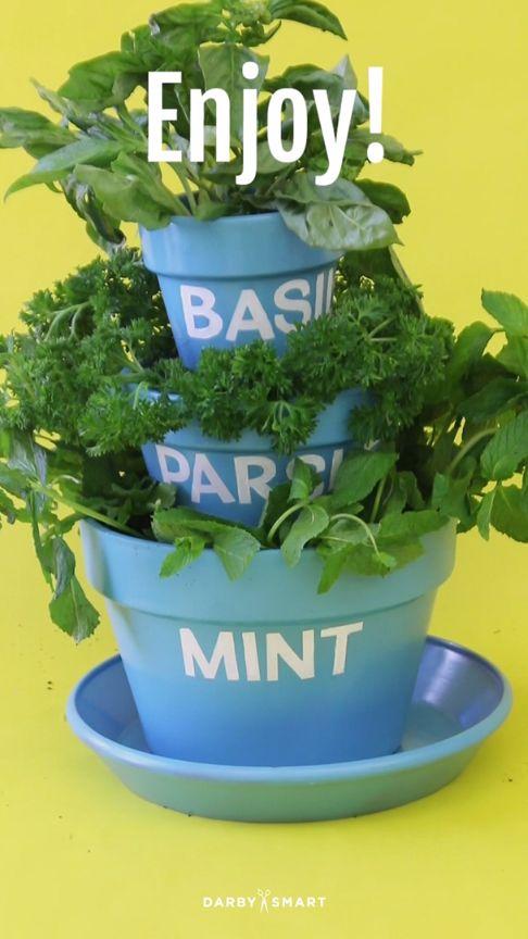 Make a Tiered Herb Garden