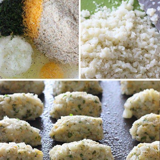 Cauliflower Tots | Skinnytaste