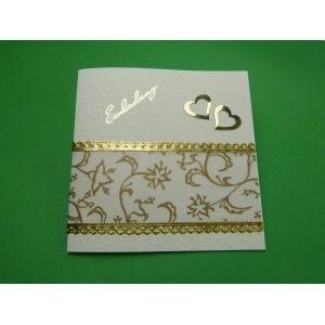einladungskarte goldene hochzeit   selber basteln mit schönen, Einladungskarten
