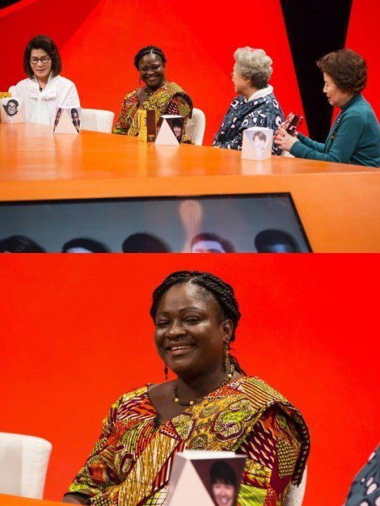 Sam Okyere's mother makes a surprise appearance on the mothers' panel of 'My Ugly Duckling'   allkpop.com