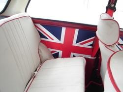1980 Mini Cooper Union Jack interior