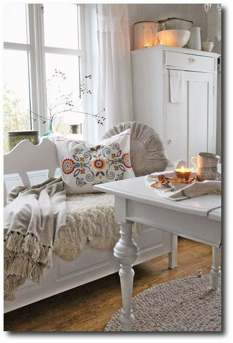 Swedish Decorating Spring Summer Checks and Florals For The Swedish Home