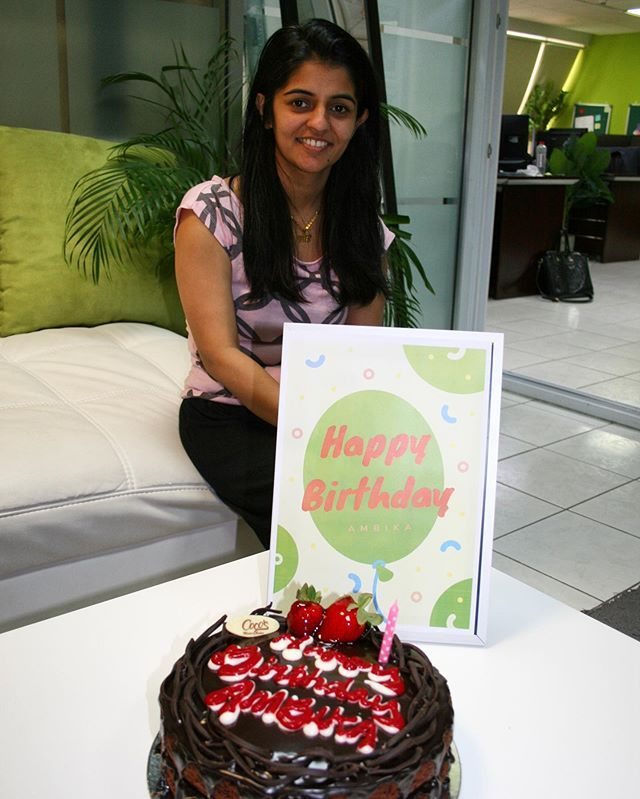 Happy Birthday To Our Team Member Ambika We Are So Grateful To Have You On Our Team Birthday Birthdayg Happy Birthday To Us Girl Birthday Happy Birthday