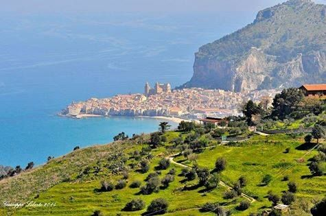 Panorama di Cefalù-Sicilia