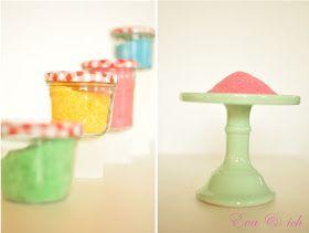 eva und ich: Selfmade coloured sugar - DIY