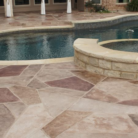 Sprayed Limestone With Your Own Design At A Fraction Of The Cost Definitely