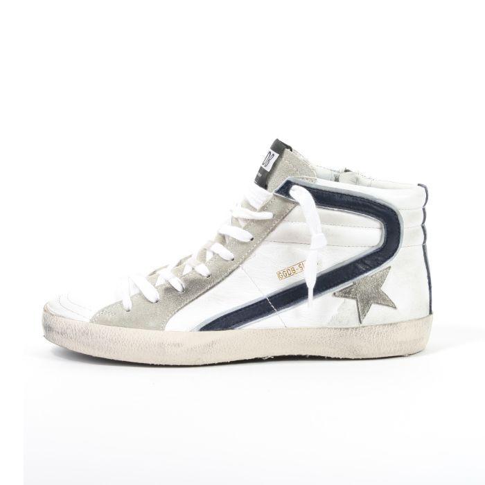 Sneaker Uomo On Sale, Grigio Asfalto, pelle, 2017, 40 Golden Goose