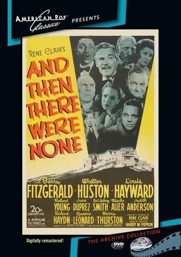 And Then There Were None [DVD] [1945]