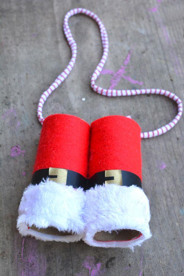 How to make your own Santa Claus Binoculars