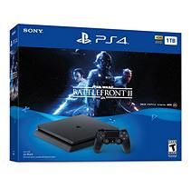 Playstation 4 1TB Console with Star Wars: Battlefront 2 and Controller Bundle