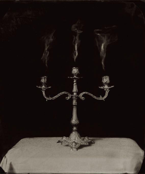 Three Lies, 2006, ambrotype, 430 x 360 mm - Ben Cauchi