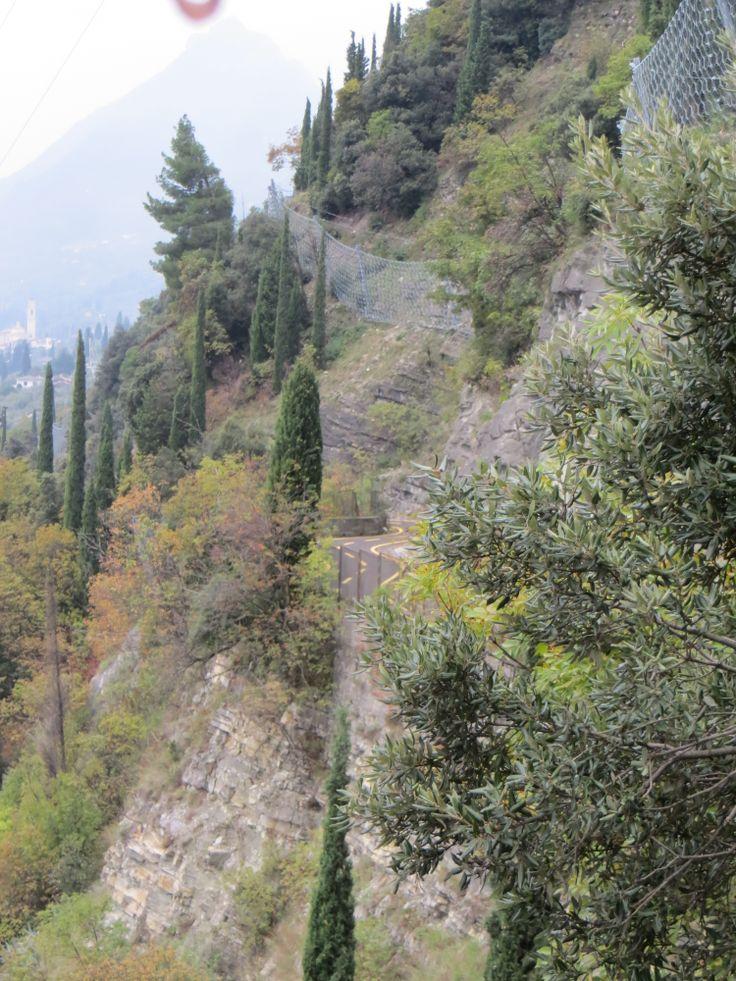 Fietspad van Tignale naar Gargnano