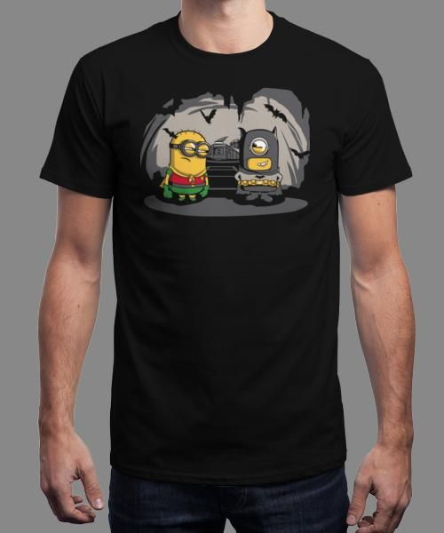 """""""Despicable Bats"""" is today's £8/€10/$12 tee for 24 hours only on www.Qwertee.com Pin this for a chance to win a FREE TEE this weekend. Follow us on pinterest.com/qwertee for a second! Thanks:)"""