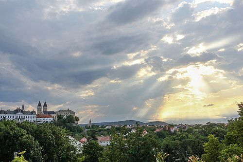 Dramatic sky - Veszprem, Hungary