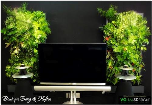 Mur v g tal d 39 int rieur pinterest - Mur vegetal interieur diy ...