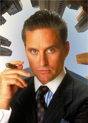 Michael Douglas - Gordon Gekko - Wall Street