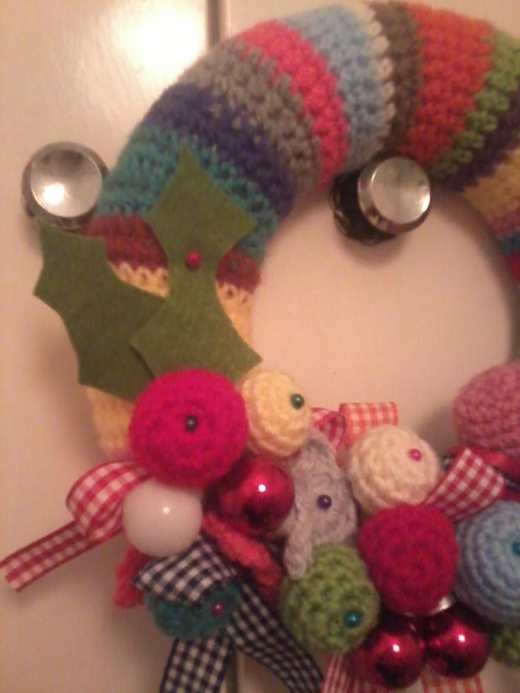 wreath is ready... ho ho ho