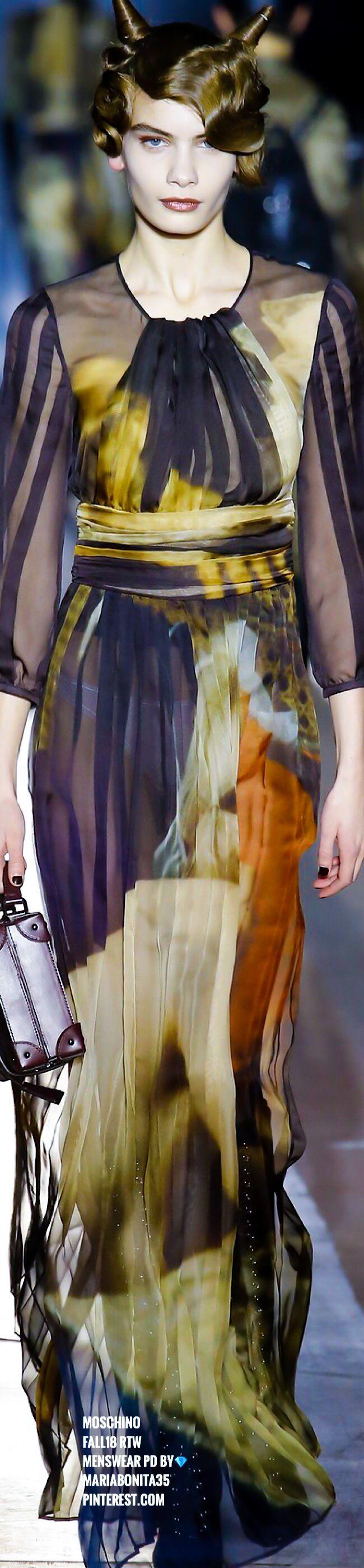 Moschino Fall18 Menswear