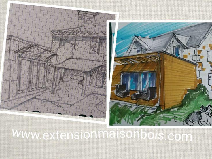 Le chalet en bois Travaux, extension, aménagement et rénovation