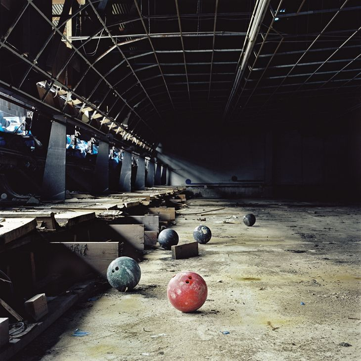 Sugar Bowl, abandoned bowling alley in east New Orleans