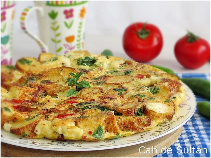 simitli omlet