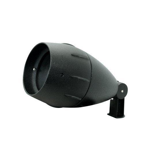 Portfolio 35w Low Voltage Outdoor Halogen Spotlight Black Finish Cast Aluminum Glass 35 Watt ...