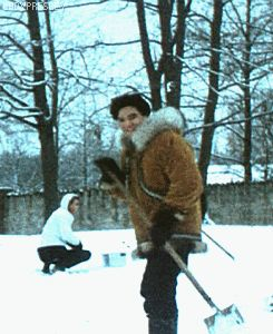 Image result for Elvis january 22, 1966 graceland snow