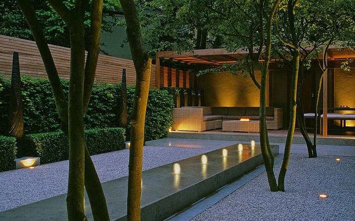 Minimalist Water Garden : Lucianogiubbilei, Garden Design, Water Features, Outdoor, Gardens ...