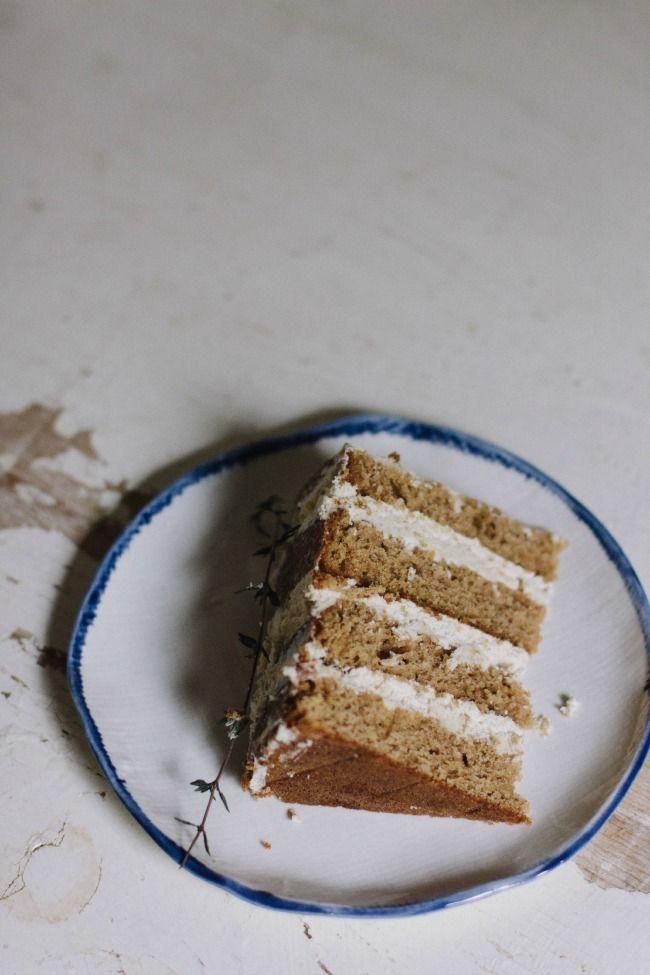 spice cake with cardamom-coffee icing | the vanilla bean blog