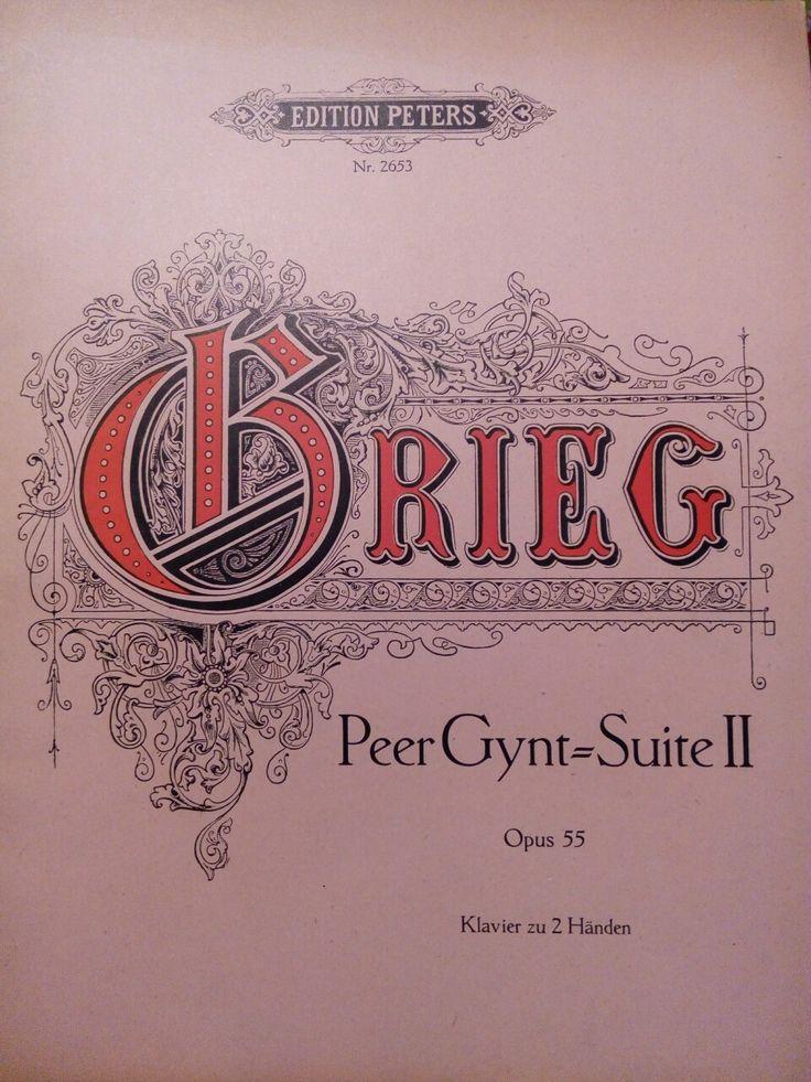"Edvard Grieg: ""Peer Gynt"" (Solveig's Song)"