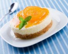 Mini tarte aux abricots sans cuisson