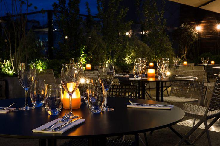 Diner sous les étoiles. Beauté et saveurs.