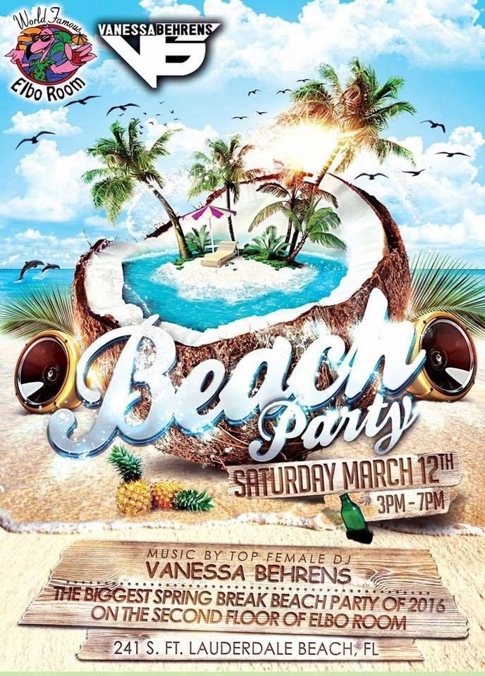 50 best Beach Party Flyer Templates an Awesome Collection of - summer flyer template