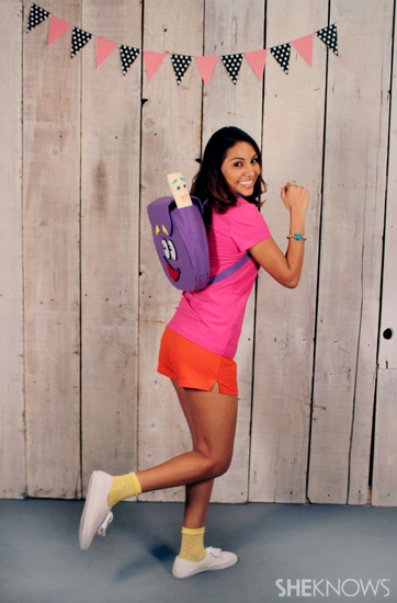 40 super easy costume ideas thatll have you rockin halloween halloween made easy - Swiper Halloween Costume