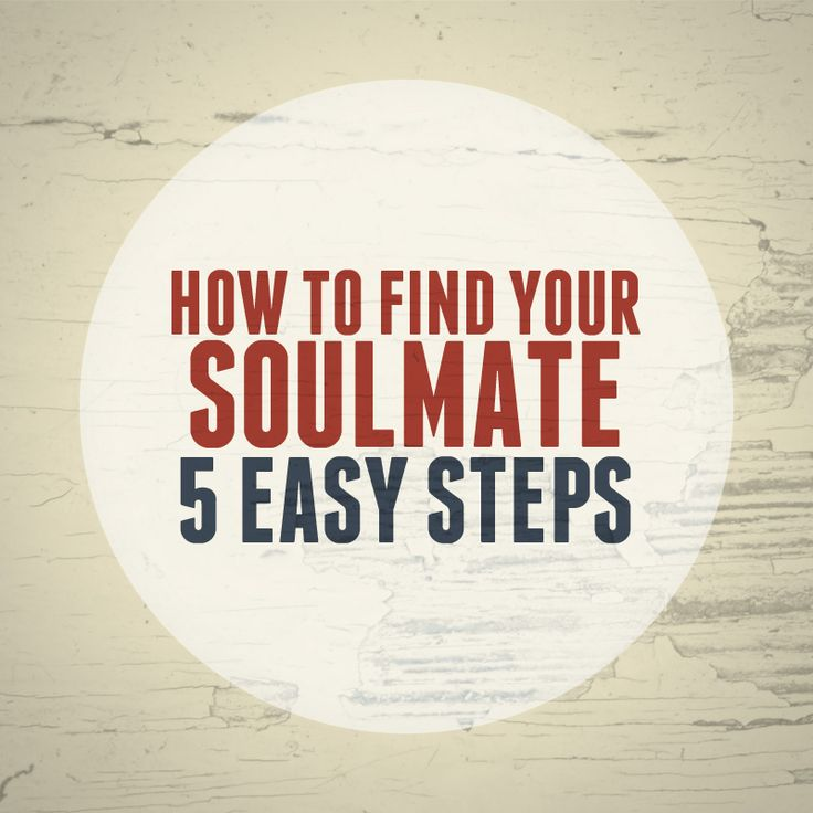 How to Find Your Soulmate in 5 Easy Steps - Sensible Singles Week on the #staymarried blog