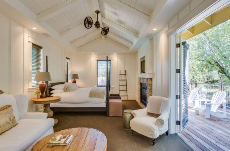 """Typically when anything has """"farm"""" in it's name, we are in! The Farmhouse Inn in Sonoma County, CA is no exception. This picturesque retreat is meticulously des"""