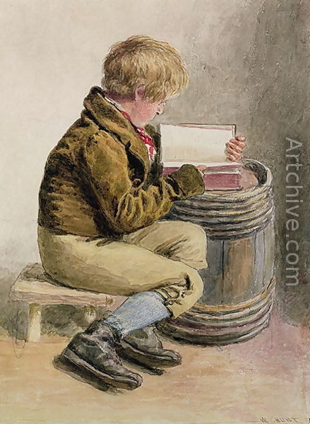 Artist Name William Henry Hunt Painting Title Little boy