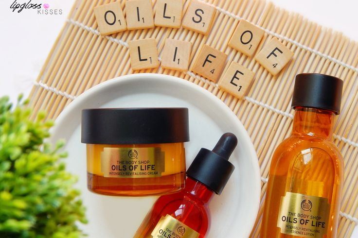 The Body Shop Oils of Life - www.lipglosskisses.com