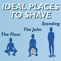 how to get close shave on bikini area