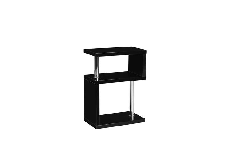 Miami High Gloss 3 Tier Shelving Unit Miami Exclusive Contemporary Designer 3 tier Stand Beautifully crafted high gloss finish 3 tier stand with chrome fixings. Available in different colours. Visit our store for more details http://stores.ebay.co.uk/GoDotti-Outlet
